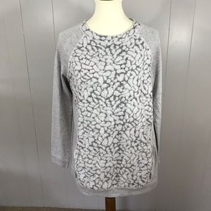 Lou and Grey spotted leopard tunic sweater